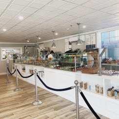 renovated counter (courtesy facebook @SiftBakeshopMystic)