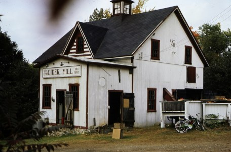 Clyde's Cider Mill 1983 - by Richard Dixon