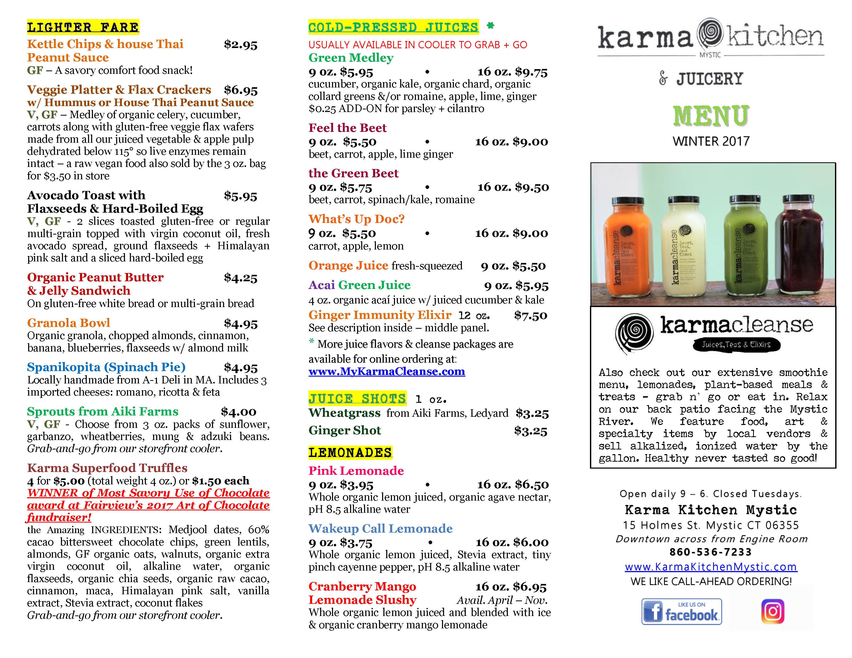 Karma Kitchen Mystic | This Is Mystic, CT