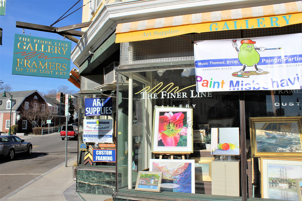 Finer Line Gallery | This Is Mystic, CT