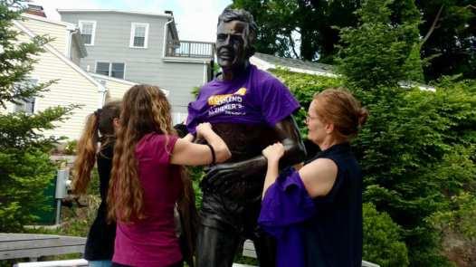 John Kelley Statue