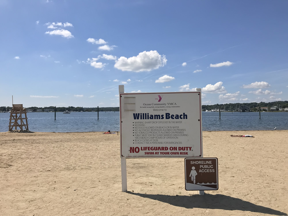 Williams Beach at YMCA