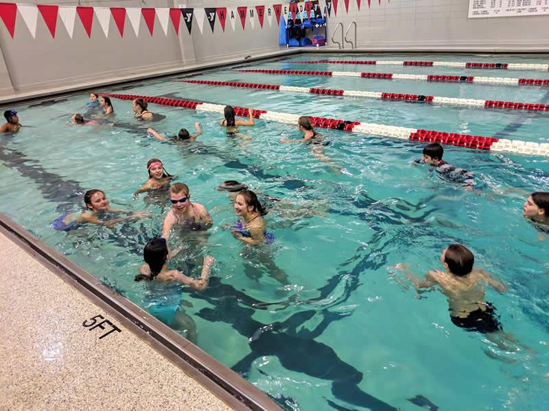 Indoor Pool at YMCA
