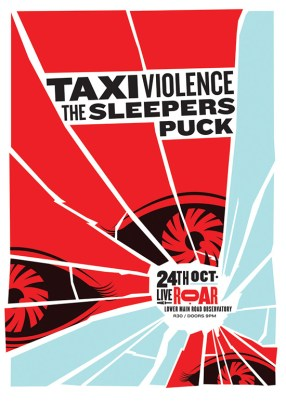 Taxi Violence - The Sleepers - The Eyes