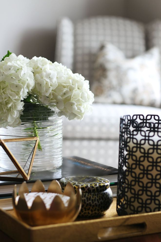 How to style a coffee table - coffee table styling - elements of a well-styled coffee table - Back to Basics - This is our Bliss