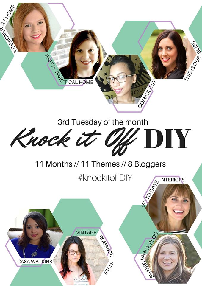 Knock it off DIY | 8 bloggers