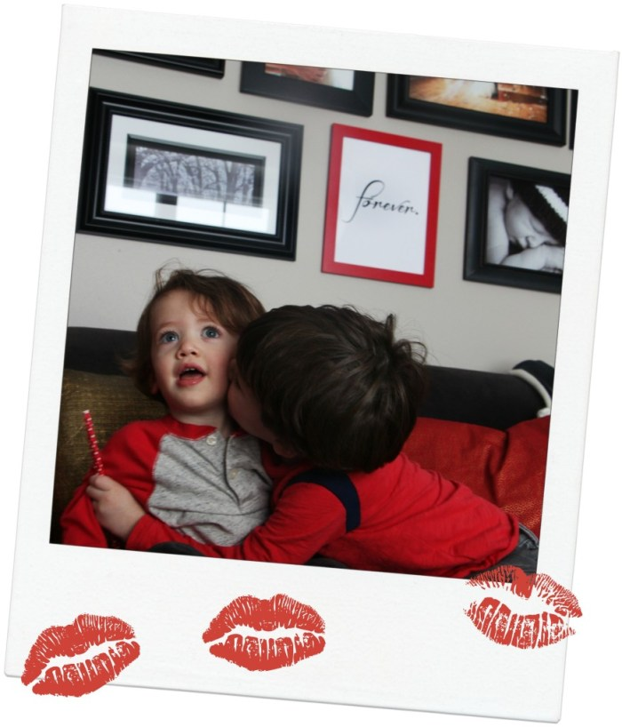 Valentines day kisses  This is our Bliss