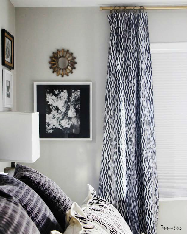 master bedroom refresh instagram with curtains  this is our bliss