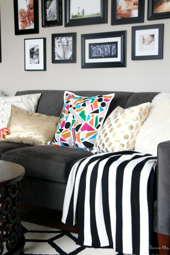 Knock it off DIY World Market Inspired Pillow how to make a new sew felt pillow cover This is our Bliss