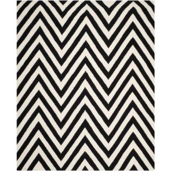 black and white chevron rug   bold Black and white rugs   This is our Bliss