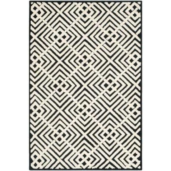 safavieh newport black and white rug - This is our Bliss