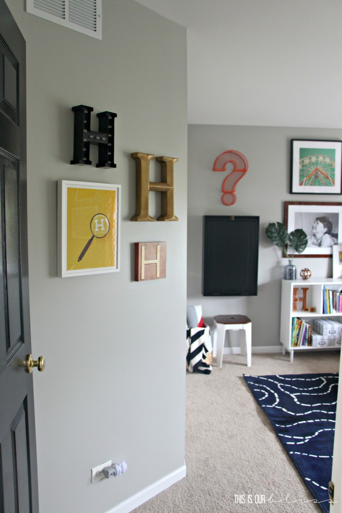 Bold & Graphic Big Boy Room   Curious Little Gentleman   This is our Bliss   www.thisisourbliss.com