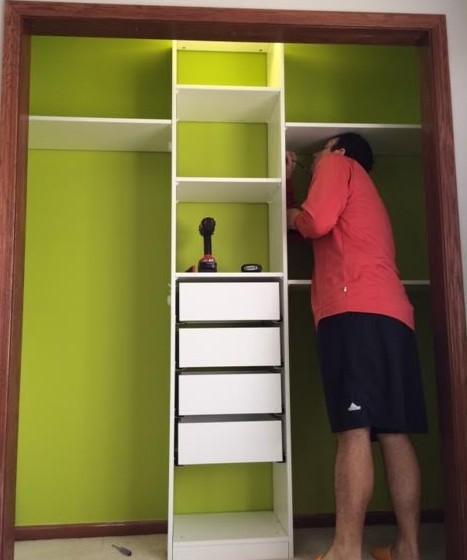 closet during 1