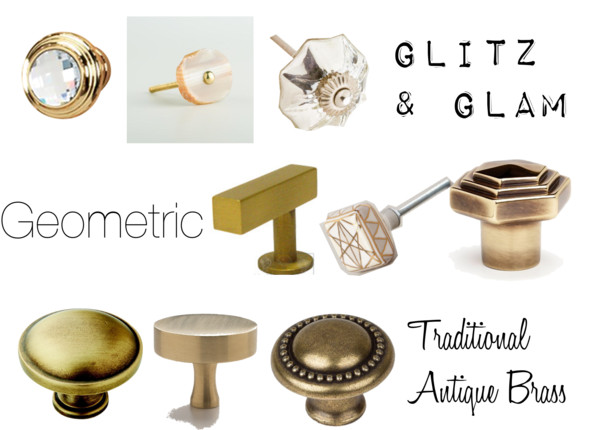sassy brass knob options - guestbath vanity options - This is our Bliss