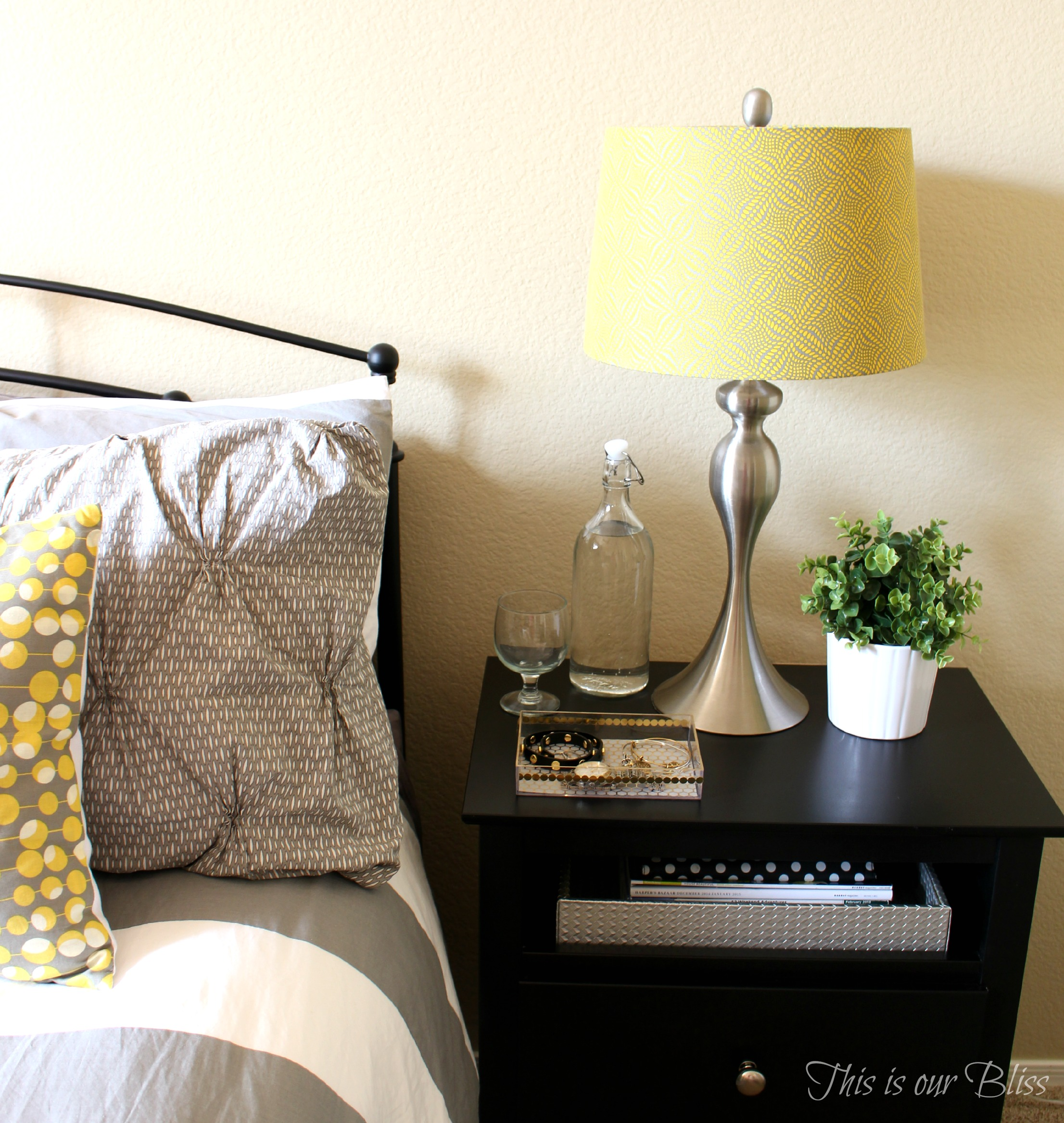 Quick  Easy Guestroom Bedside Table Roundup  This is