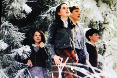 "A favorite Christmas movie of our family--""Narnia: The Lion, The Witch, and The Wardrobe"""
