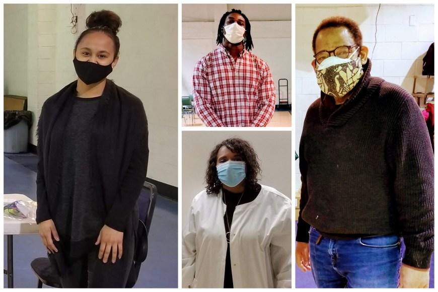 Collage of vaccine recipients