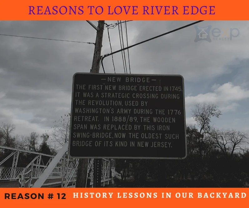 Reasons to Love River Edge - Local Historical Sites