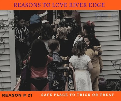 Reasons to Love River Edge - Trick or Treating