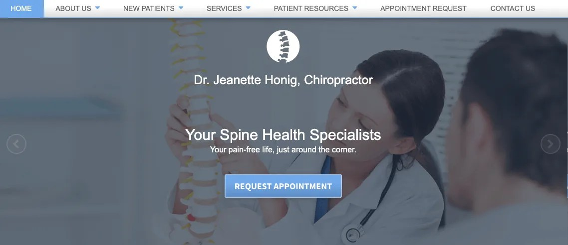 Dr. Jeanette Honig, Chiropractor