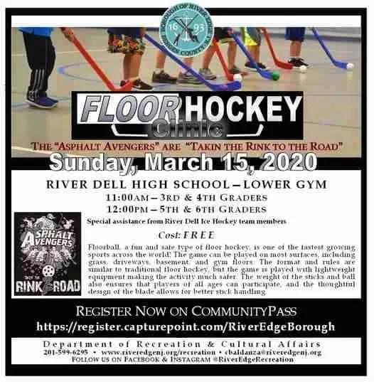 Asphalt Avengers Hockey Clinics