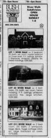 Historical Greenville News Article about River Walk Subdivision