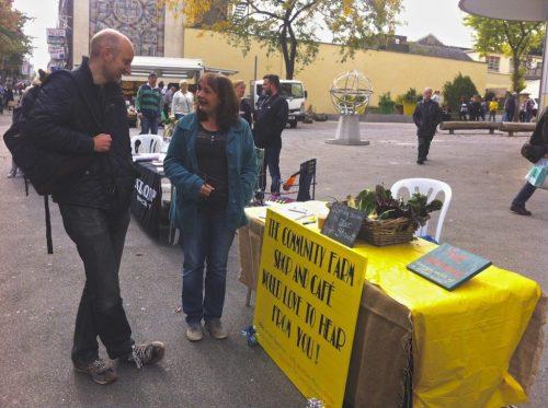Public engagement on Sutton High Street