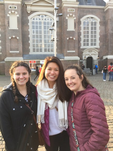 We waited in line for 1.5 hours to go to Anne Frank Huis. It was well worth it.