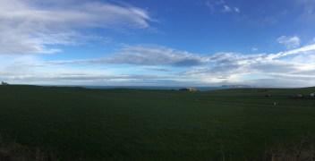 Big skies in North Ireland