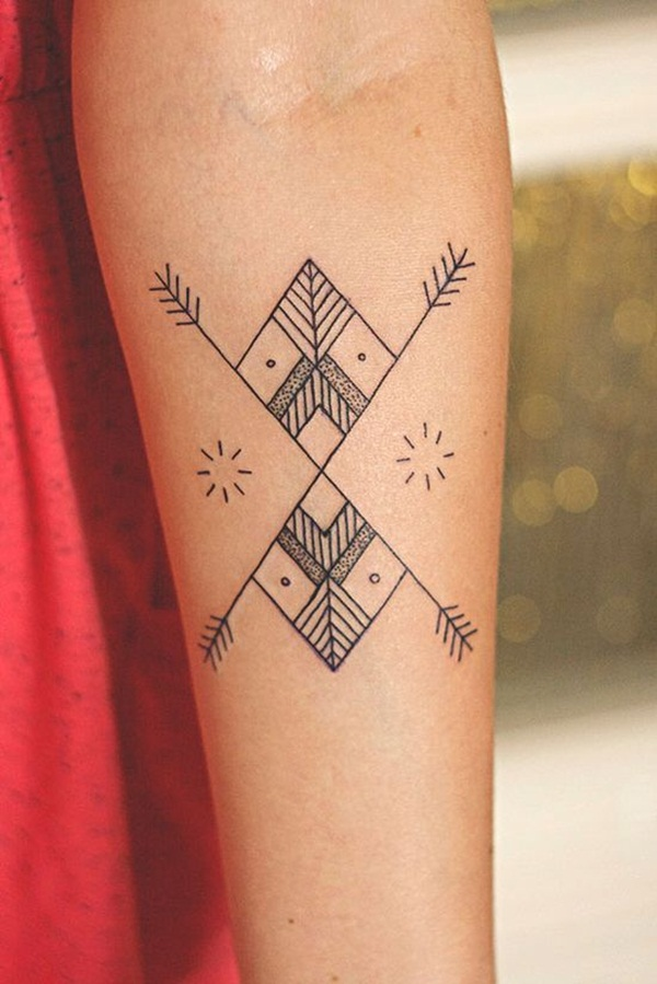 Dots And Lines Tattoo : lines, tattoo, Tattoos, Symbolically