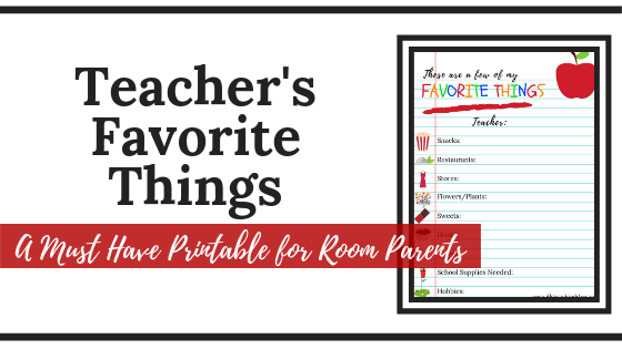 photograph relating to Teacher Favorite Things Questionnaire Printable named Academics Beloved Components: A Ought to Incorporate Printable for Area
