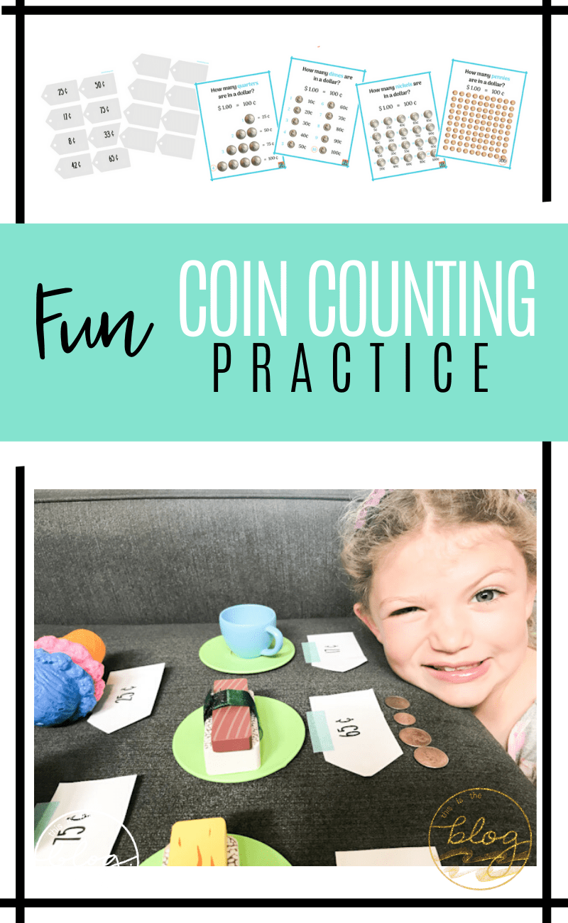medium resolution of Fun Coin Counting Practice for 1st \u0026 2nd Grade   This Is The Blog