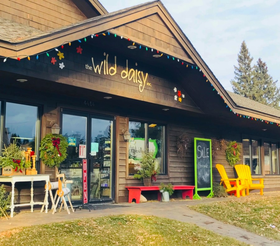 Visit The Wild Daisy in Pequot Lakes, MN, for flowers, gifts and more!