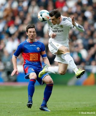 Bale cost about 10 times that of the whole Elche squad