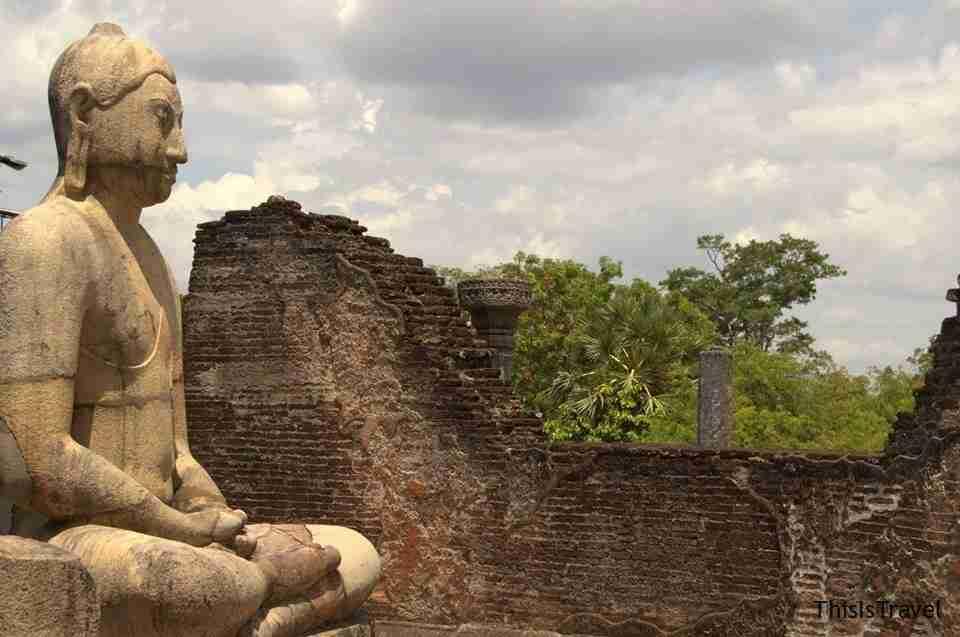 Estatua en sri lanka