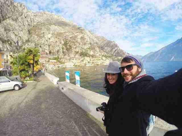 frente al Lago Di Garda, en Limone