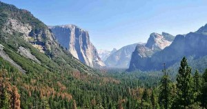 vistas desde Tunnel View del Yosemite N.P