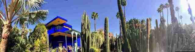 jardin Majorelle panoramica