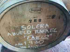detalle del vino