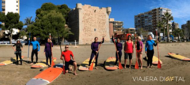 Paddle surf en Benicassim