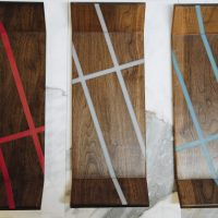 Walnut Intersections Trays All Colors