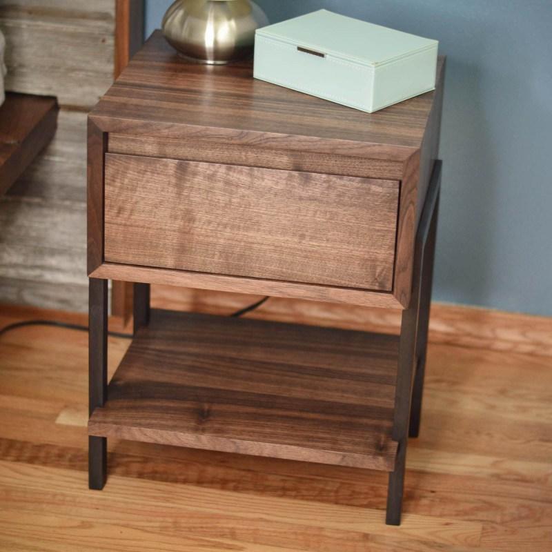walnut side or coffee table