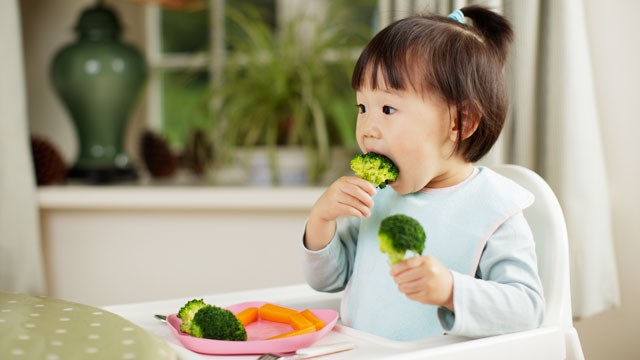 Αφήστε την διατροφή στα χέρια του μωρού σας -Thisisus.gr
