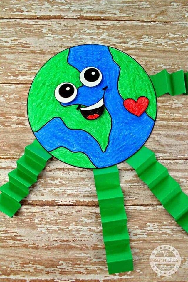 χειροτεχνίες για την Παγκόσμια Ημέρα Γης