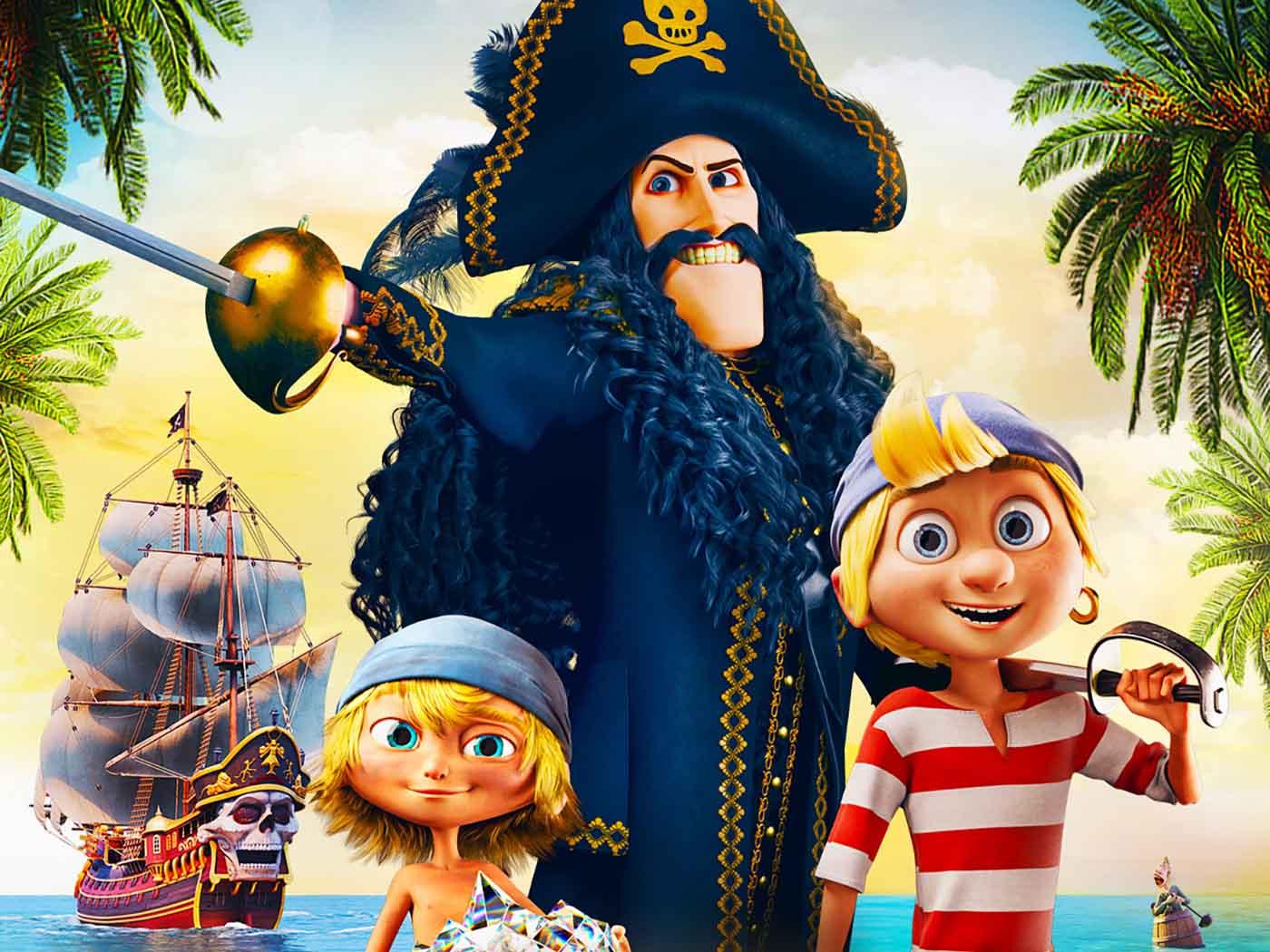 Ο Πειρατής Μαυροδόντης και το Μαγικό Διαμάντι στα Village Cinemas –Thisisus.gr