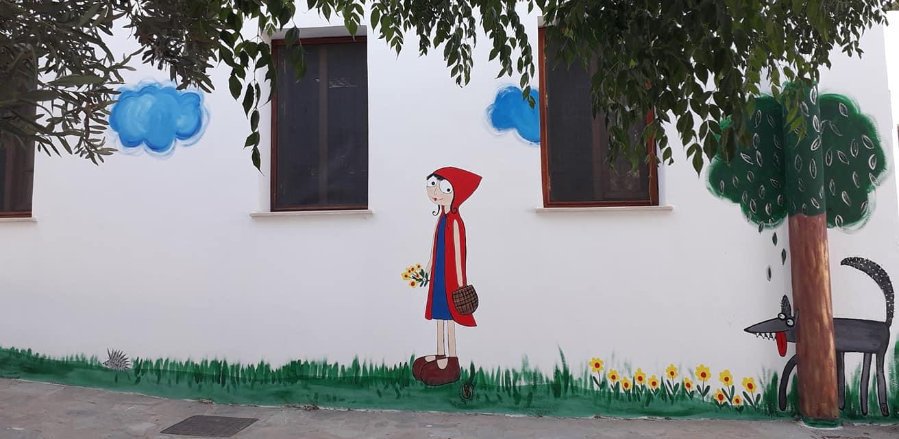 Οι ζωγραφιές μιας μαμάς και των παιδιών της σε νηπιαγωγείο της Πάτμου – Thisisus.gr