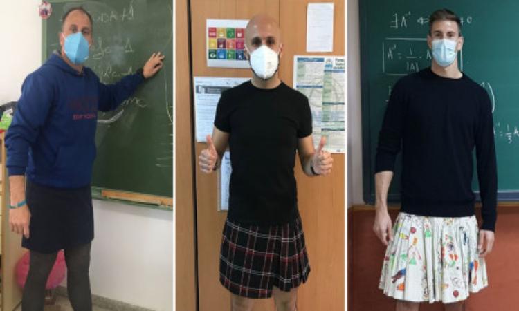 Δάσκαλοι φόρεσαν φούστες και έστειλαν μήνυμα ενάντια στην ομοφοβία και τον εκφοβισμό – Thisisus.gr