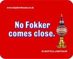 A Spitfire Ale ad.