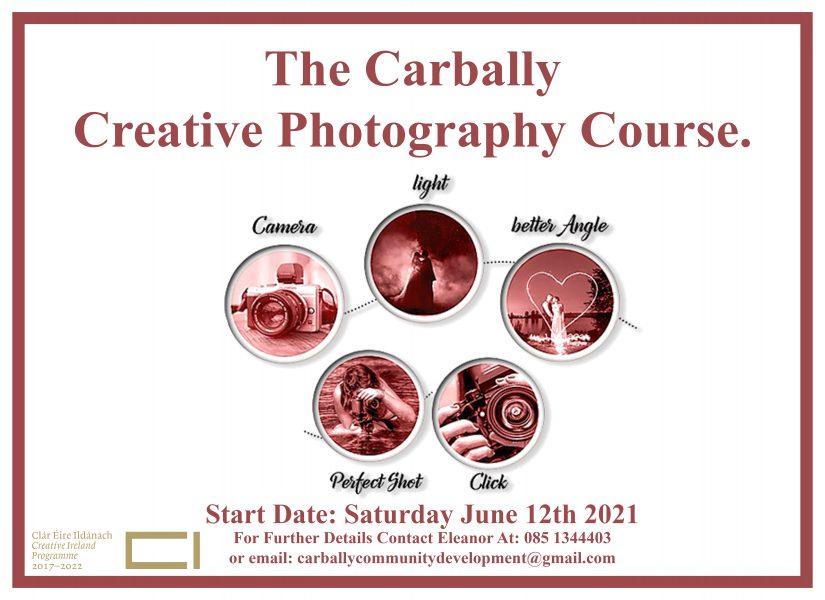 Carbally Creative Photography Course