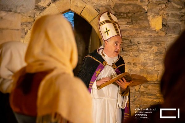Waterford Museum of Treasures, re-enactment of Strongbow and Aoife's Wedding. Picture: Patrick Browne